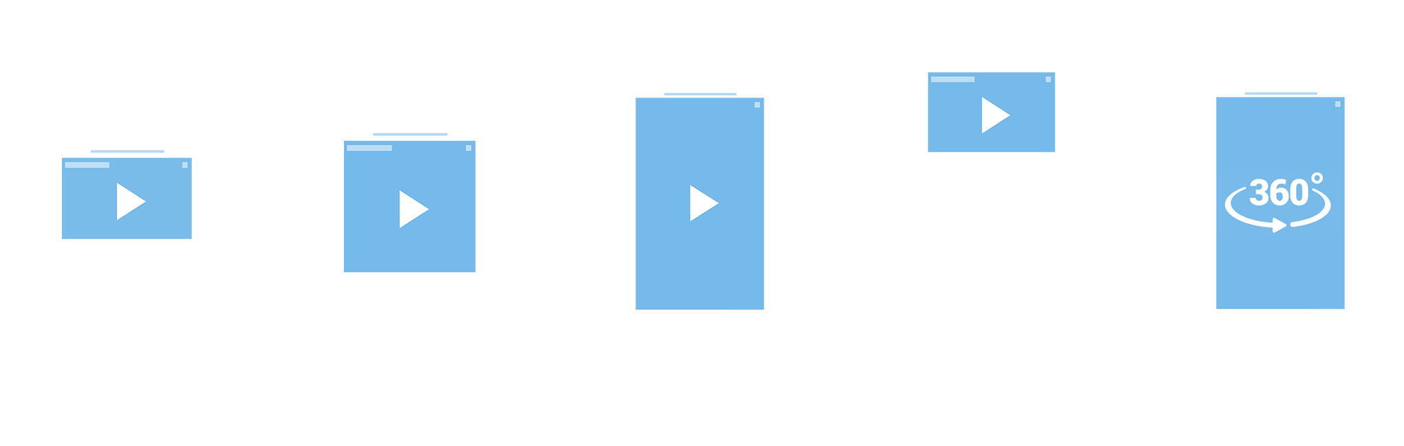 Outstream Video Formats