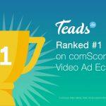 comScore Ranks Teads